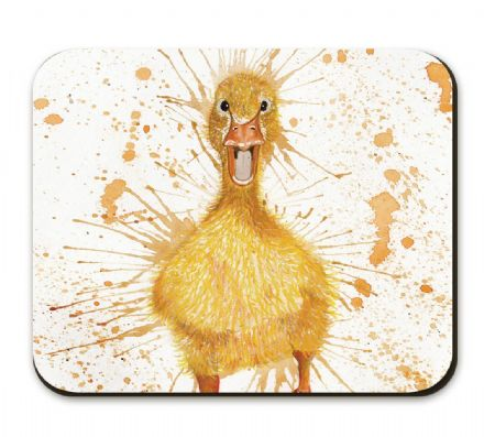 Splatter Duck Corked Backed Placemat by Katherine Williams